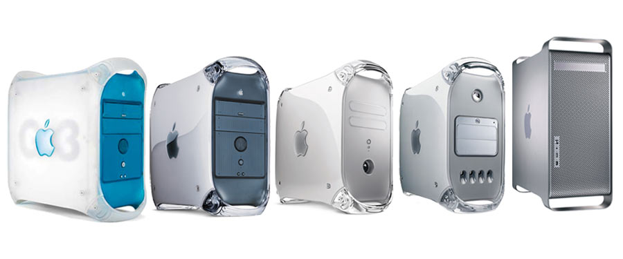 Power Mac G3, G4 and G5